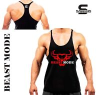 SAWANS® Gym Shirt Men Tank Top Vest Muscle Sleeveless Bodybuilding Sport Fitness