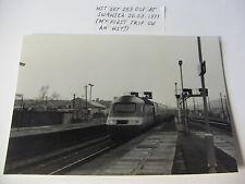 ENG2025 - HST Set 253 021 at SWANSEA Railway Station Photo