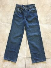 NWT Old Navy Boy's Adjustable Waist Striaght Fit Medium Wash Jeans Reg. 14 Slim