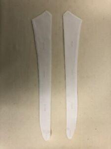 Pair White Marcella Waistcoat Slips Type 2