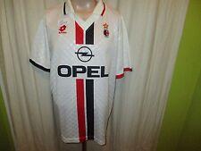 """AC Mailand Original Lotto Auswärts Trikot 1995/96 """"Opel"""" + Nr.8 Gr.XL TOP"""