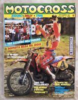 RIVISTA MOTOCROSS N.9 SETTEMBRE 1987 (MOT2)