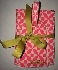 Boden Pink Luggage Tag And Passport Cover Gift Boxed RRP £29 50% Off
