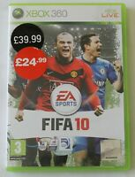 XBOX 360 Game FIFA 10 EA Sports PAL - Disc/Manual - Worldwide Shipping