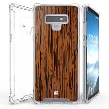 For Galaxy Note 9 SM-N960 Bumper Shockproof Case Wood Oak