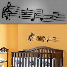Music Notes Wall Decal, Kids Room Music Stickers, Nursery Music Notes - 32""