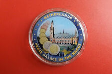Europa Medalie*Niederlande Farbenaplica. *ca.40mm (K0F3).