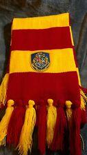 Harry Potter Gryffindor Warner Bros striped scarf