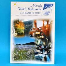 Morada Hotel Bodenmais 2002 | Getränkekarte