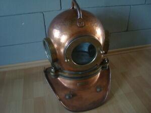 Original russian Soviet 3-bolt Diving Helmet(escafandra,casque) made in 1990