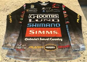 "Jeff ""Gussy"" Gustafson BASS Elite Series Autographed Tournament Jersey"