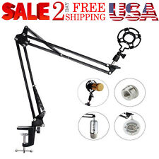 Microphone Arm With Shock Mount Desk Stand Screw Adapter For Blue Yeti Snowball