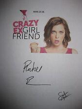 Crazy Ex Girlfriend Signed TV Pilot Script Rachel Bloom Santion Fontana reprint