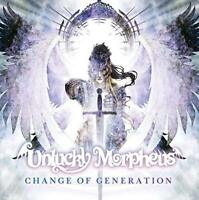UNLUCKY MORPHEUS Change Of Generation -JAPAN CD New +Tracking Number F/S