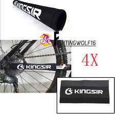 4X Bicycle Cycling Bike Kingsir Frame Chain Protector Guard Cover Chainstay Pad