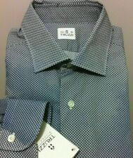 Truzzi Milano Luxury special dye effect beautiful shirt 15.75/40 ,M NWT$475