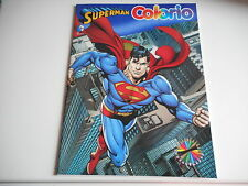 LIVRE DE COLORIAGE SUPERMAN / COLORIO - 16 pages - 32 dessins