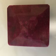 Natural Rough Ruby 683 CT, use as paperweight or to cut