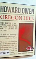 NEW *Sealed* AUDIO BOOK on CDs OREGON HILL Howard Owen 02