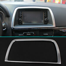 FIT FOR MAZDA CX-5 CHROME INTERIOR CENTER CONTROL COVER TRIM MOLDING FRAME BEZEL