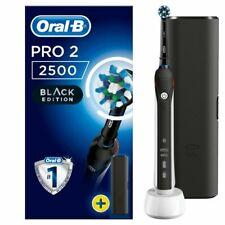 Oral-B PRO 2 2500 CrossAction Spazzolino Elettrico Ricaricabile - Nero