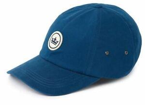 NWT PETER MILLAR FELT WHITE PATCH BASEBALL CAP - NAVY - O/S (MSRP $29.50)