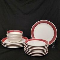 Gibson Dinnerware Set 17 pcs