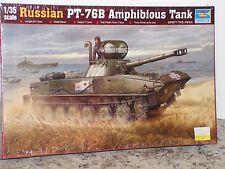 TRUMPETER #00381 1/35 RUSSIAN PT-7B AMPHIBIOUS TANK  FS