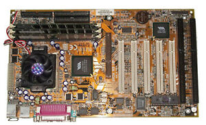 Procomp BVC3A-133 Socket 370 motherboard, Pentium III 866Mhz CPU, 384MB SD-RAM