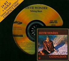 * SEALED * AUDIO FIDELITY 24KT GOLD CD / DISC - TALKING BOOK - STEVIE WONDER