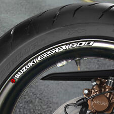 SUZUKI GSR 600 WHEEL RIM STICKERS  DECALS NAKED  B