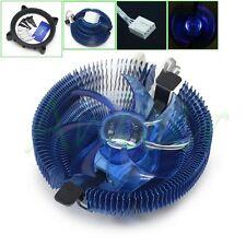 CPU Radiator PWM LED Fan Cooler For Intel 775 1155 1156 AMD 754 939 AM2+ AM3