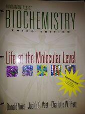 Fundamentals of Biochemistry Judith G. Voet et al. Donald Voet (in Binder) 3rd