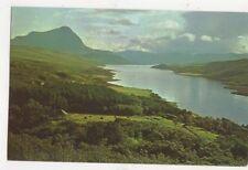 Loch Hope & Ben Hope Sutherland Old Postcard 481a