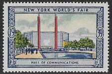 Usa Poster stamp:1939 New York World's Fair: Hall of Communications - dw433/18