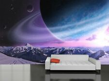 Planet Landscape  Photo Wallpaper Wall Mural DECOR Paper Poster Free Paste