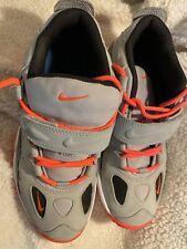 Nike Air Boys Shoes Vivid Orange White-Anthracite-Wolf Grey 599812-002 Size 7Y