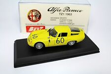 Alfa Romeo TZ1 1963 TRAGA FLORIO 1:43 Best 9061 Model Car Diecast