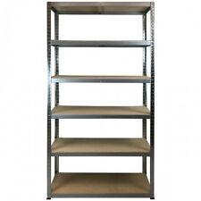 Boltless Shelving 175kg 1960x1000x400 (Galvanise) for Garages / Sheds, Office