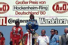 Jacques Laffite Ligier JS11/15 ganador alemán Grand Prix 1980 fotografía