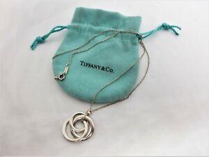 Tiffany & Co 1837 Interlocking Circles pendant and chain Necklace