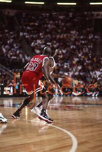 Michael Jordan vs Gary Payton - 35mm Basketball Slide