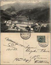 Campo di Zoro, attuale campo Tizzoro, fabbrica munizioni della SMI, viag1912