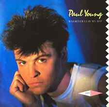 "PAUL YOUNG ‎- Wherever I Lay My Hat (7"") (EX+/EX)"