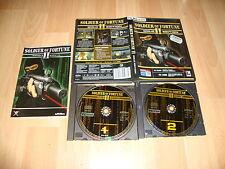 SOLDIER OF FORTUNE II GOLD EDITION DE ACTIVISION PARA PC USADO COMPLETO