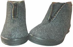 Slippers Warm House Boots Slippers Comfortable Chalet Boots Felt Wool 36-42