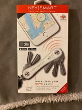 KeySmart Pro Ks411r Compact Key Organizer With Tile Smart Location Technology
