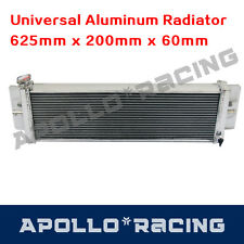 Universal Air - Water Heat Exchange Charge Cooler Radiator 625mm X 200mm X 60mm