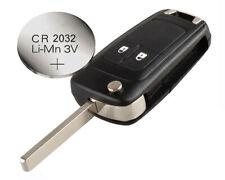 fits VAUXHALL OPEL ASTRA J ZAFIRA MERIVA B 2 button remote FLIP KEY fob case
