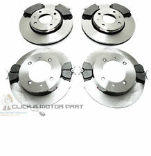 VOLVO S40 V40 1997-2003 MINTEX FRONT & REAR BRAKE DISCS AND PADS SET NEW